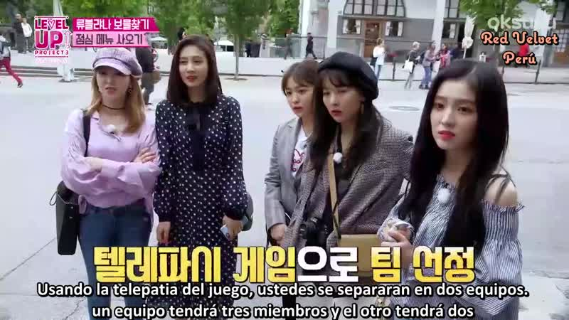 [SUB ESPAÑOL] Red Velvet - Level Up! Project T3 - Ep. 5