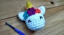 Mi primer amigurumi: Como tejer Llavero Unicornio a Crochet