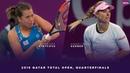 Barbora Strycova vs. Angelique Kerber   2019 Qatar Total Open Quarterfinal   WTA Highlights