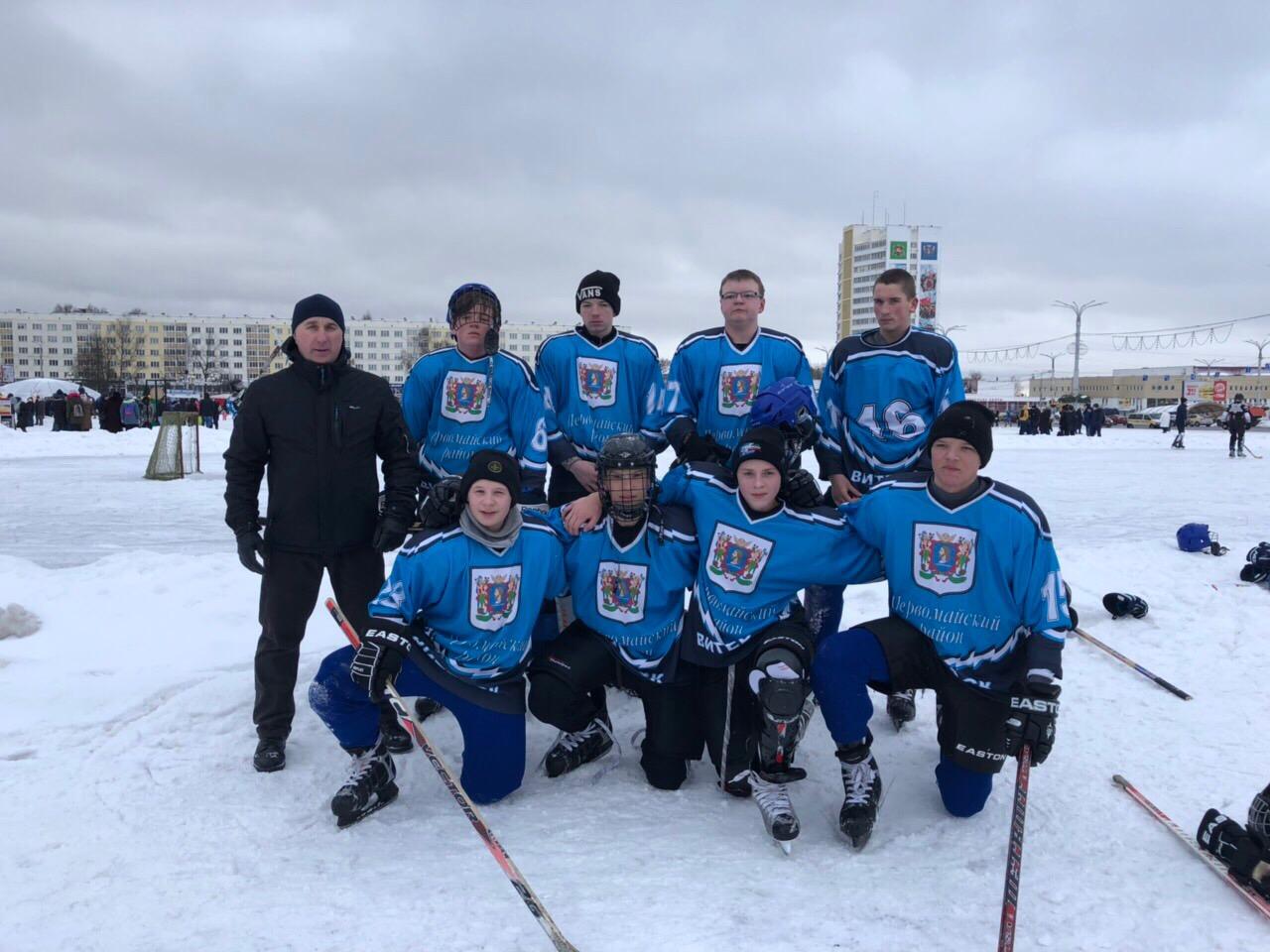 Городской турнир по хоккею в рамках Всемирного дня снега