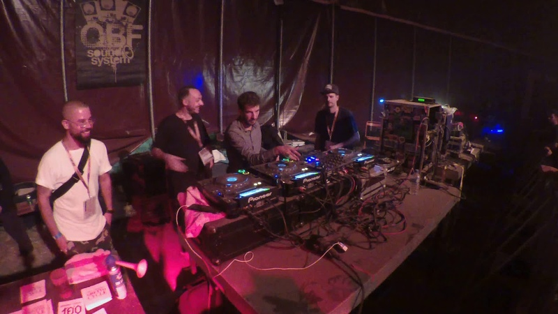 Dubcamp 2018 Jour 2 Outernational Arena Rootystep on O B F Sound System