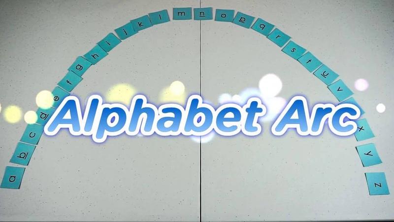 Alphabet Arc for Letter Recognition