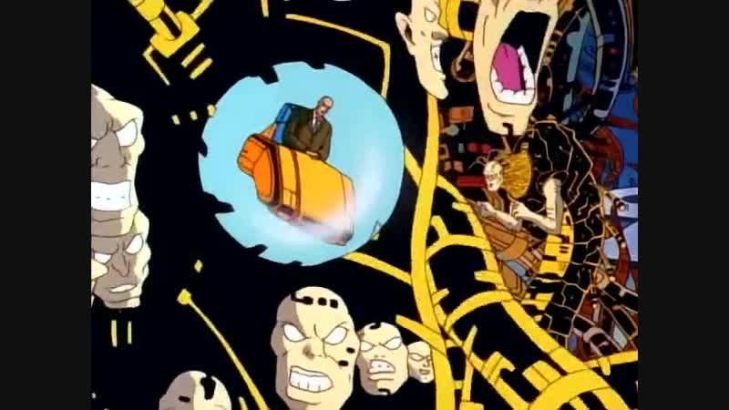 Люди Х 1992.68 серия.5 сезон 6 серия.Объединение Фаланги часть 2.Phalanx Covenant part 2.11DeadFace