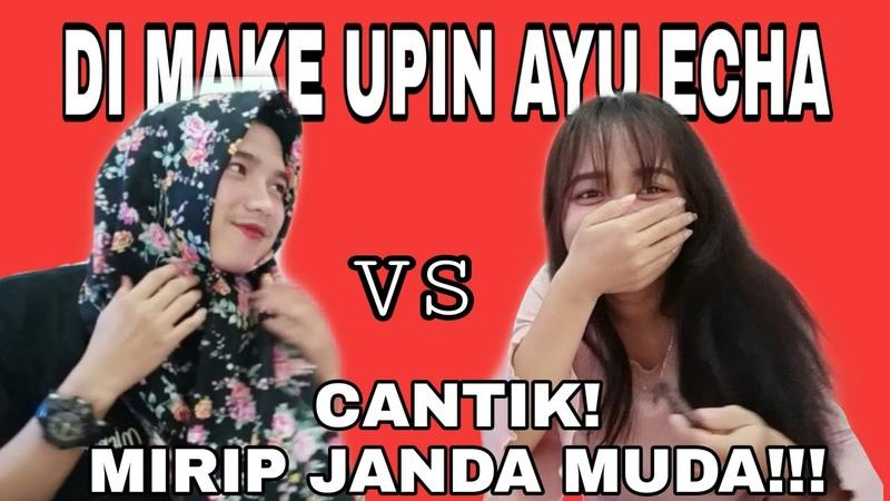 Challenge Di Make Upin Pacar PART1 Gagall Tapi Hasilnya Kaya Tante (romantis)