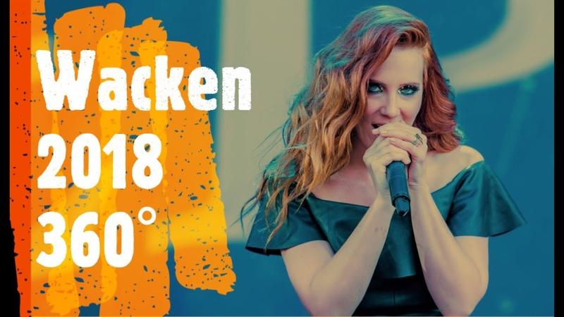 Epica Wacken 2018 live 360°
