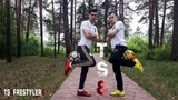 TS8 Crazy Football Skills Football Freestyle Double Act Duo