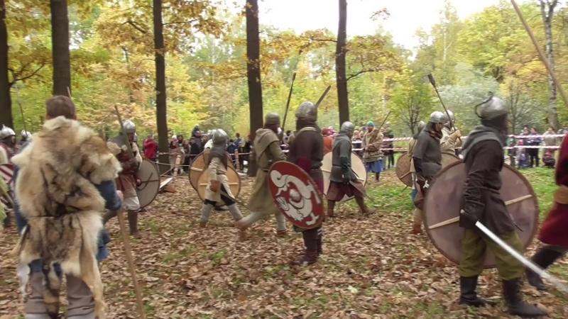 Рагнарёк Варяжские ратные игры.часть 1. Осень 6.10.2018