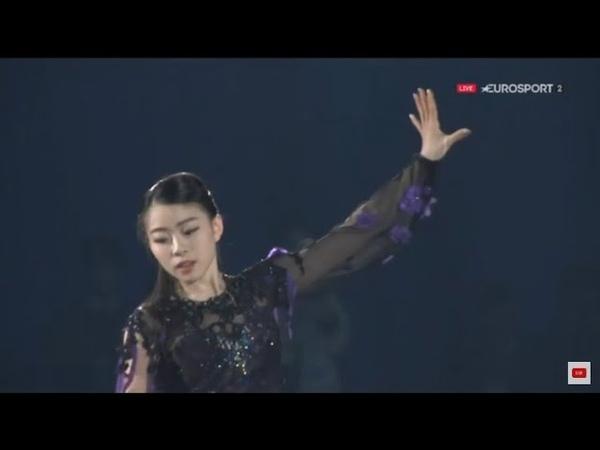 Rika KIHIRA NHK Trophy 2018 Gala exhibition. Рика Кихира показательные выступления