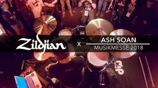 Ash Soan - 2018 Frankfurt Musikmesse Drum Camp