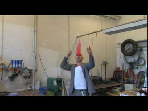 Lär dig jonglera med David Eriksson, Cirkus Cirkör - del 1, näsdukar