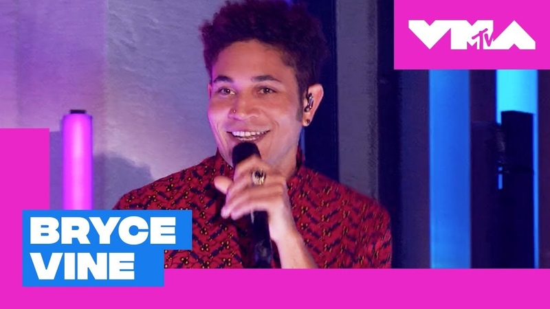 Bryce Vine Performs 'Drew Barrymore' Live Performance 2018 MTV Video Music Awards Pre Show