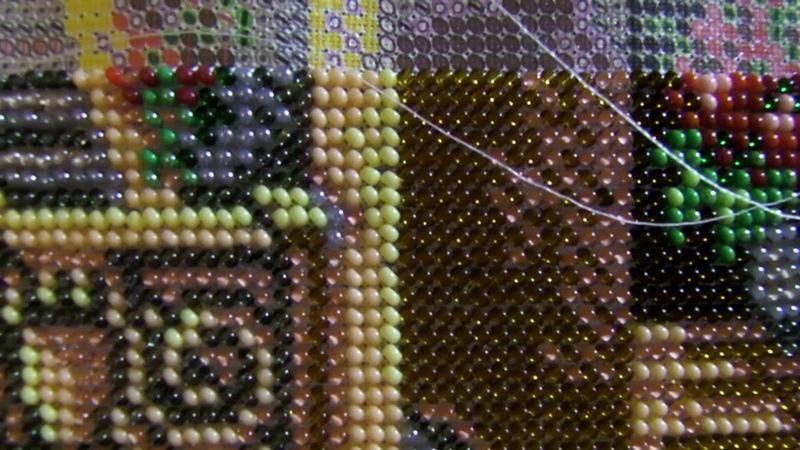 Вышивка бисером: Набор от Радуга Бисера Остров Капри В-270. Организация процесса.