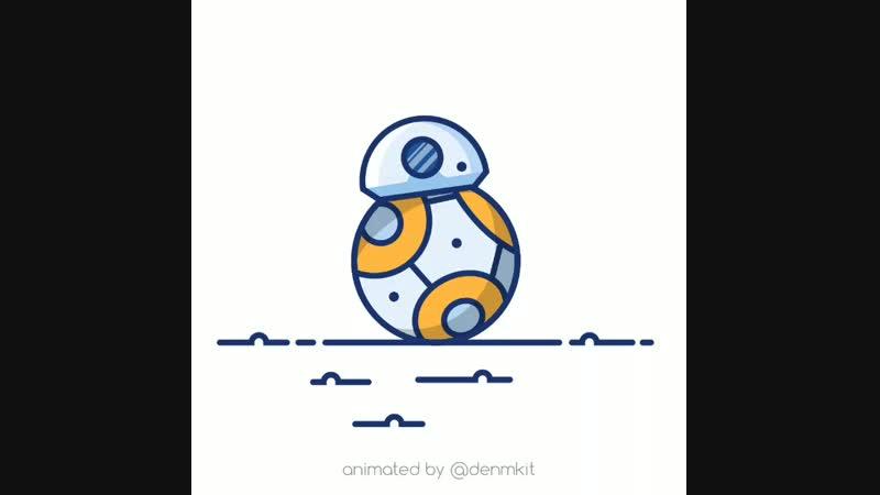 BB-8 animation