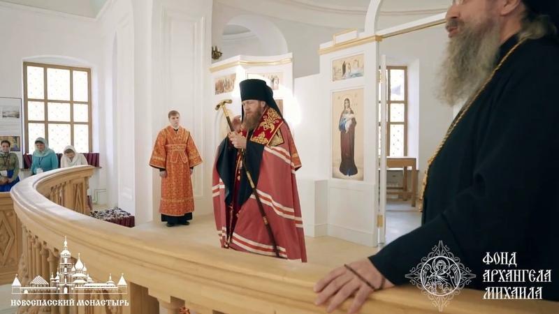 Торжественный молебен по случаю начала проекта по восстановлению Знаменского храма