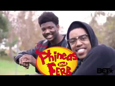 Phineas Ferb produced by BET by KING VADER