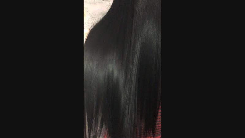 Ботокс волос. Работа Крашенинниковой Юлии.