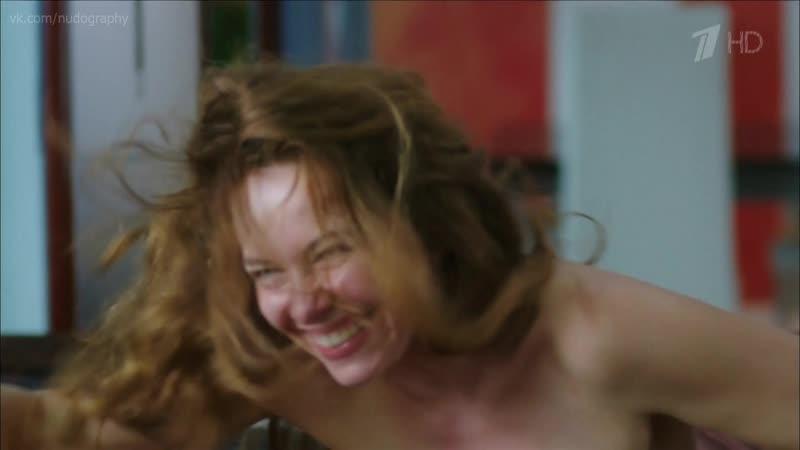 Екатерина Гусева голая в сериале Тонкий лёд (Из-за любви, Любовь в 3-D, 2015) - 2 серия (1080i) короткая версия
