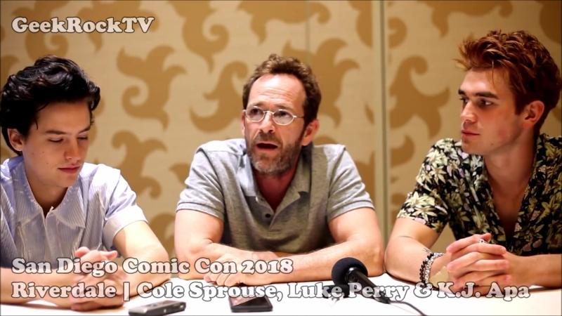 2017 › интервью для «GeekRock TV» в рамках конвенции «Comic Con» › 21 июля