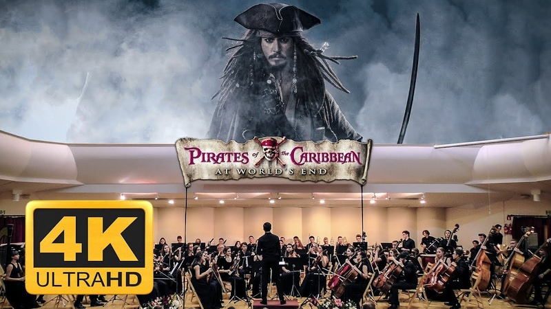 Pirates Of The Caribbean At Worlds End by Hans Zimmer パイレーツ・オブ・カリビアン 加勒比海盗 Orchestral Medley