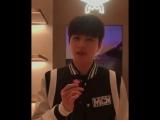 180817 MCM Store Renewal Open Event - Kim Myungsoo