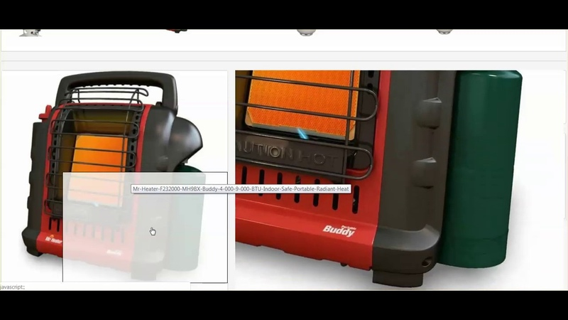 Cant Afford A Generator Portable Propane Heaters Under $100.00 - Be Prepared For Anything