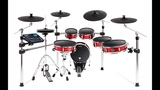 Over-view Alesis Strike Pro Kit Eleven-Piece Professional Electronic Drum Kit with Mesh Heads