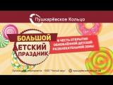 Большой Детский Праздник в ТРЦ Пушкаревское Кольцо