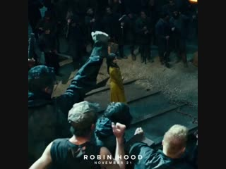 This is our shot Robin Hood promo