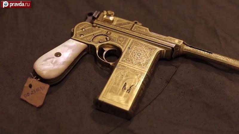 Уникальный испанский пистолет «Астра 902es», 7,63 мм: золотое оружие Сталина