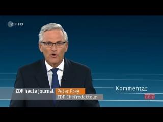 Kommentar von Peter Frey (ZDF)_ _Merkels Kanzlerschaft implodiert, ihre Zeit geht zu Ende_ [720p]