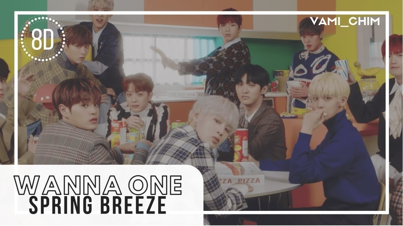 WANNA ONE - SPRING BREEZE「8D AUDIO」USE HEADPHONES DOWNLOAD LINK