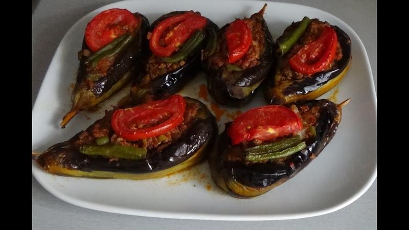 Турецкий рецепт - Карныярык (Karnıyarık Yemegi)