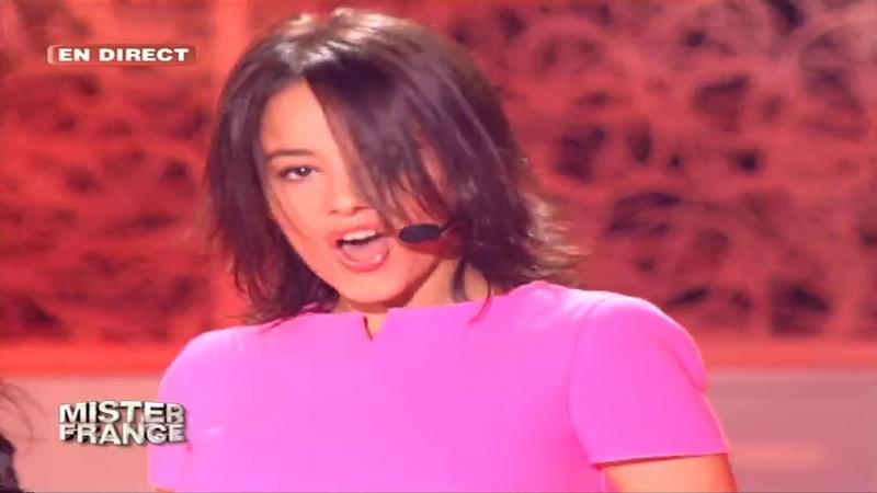 Alizée - J'ai Pas Vingt Ans (Live At Show Mister France, Channel TF1 03.06.2003)