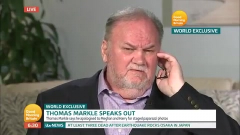 Meghan Markle's dad reveals warning to Harry as he breaks silence in tell-all interview