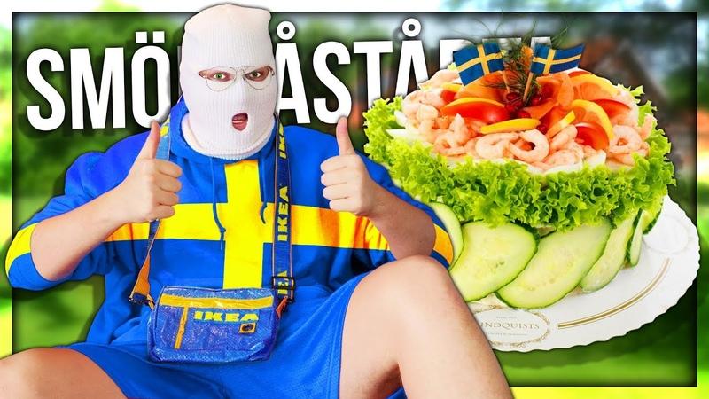 ANOMALY AND PAPA MAKE A TRADITIONAL SWEDISH SMÖRGÅSTÅRTA