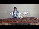 마림바로 연주하는 사랑을 했다 LOVE SCENARIO iKON Marimba Cover