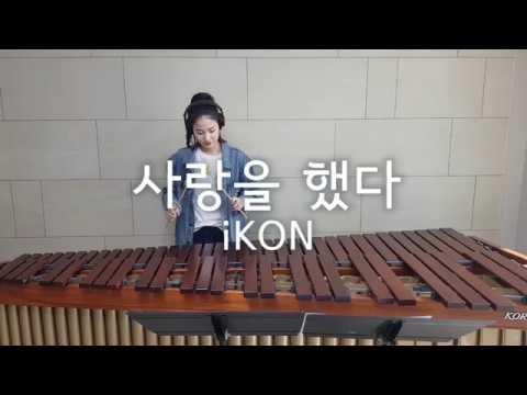 마림바로 연주하는 사랑을 했다(LOVE SCENARIO) - iKON / Marimba Cover