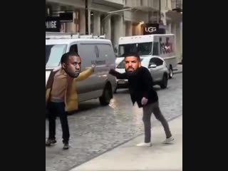 Биф Drake и Kanye West глазами фанатов [NR]