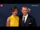 Benedict and Sophie posing for the pics.