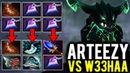Arteezy Midlane vs w33 - From 5 Null Talisman to Scepter Build Outworld Devourer