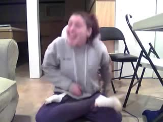girl pees her pants while trying to do a magic trick - YouTube (360p)