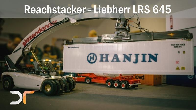 Liebherr Reachstacker LRS 645 - Giezendanner - Containerverladung | RC 187