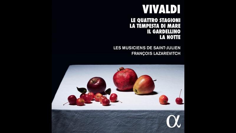 VIVALDI Concerto in G minor Op. 8 No. 2 L'Estate III. Presto by Les Musiciens de Saint-Julien