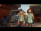 В поисках Йети Mission Kathmandu The Adventures of Nelly &amp Simon Дублированный тизер-трейлер