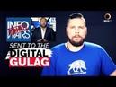 Alex Jones' InfoWars Sent To The Digital Gulag - YouTube