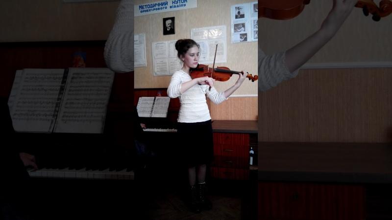 Зозуля Тетяна 12 років О Зноско Боровський Галоп