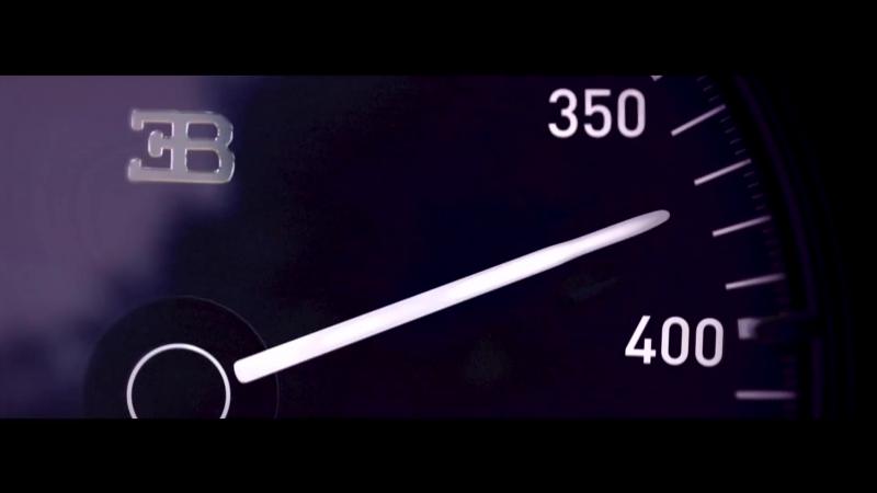 BUGATTI Chiron 0-400-0 km/h in 42 seconds – A WORLD RECORD