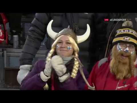 Горные лыжи / Кубок Мира 2018-19 / Леви (Финляндия) / Мужчины / Слалом / 2-я попытка