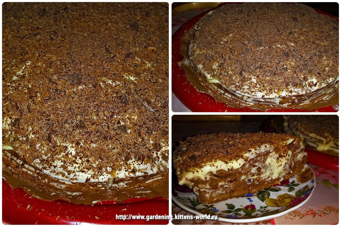 Домашний шоколадный тортик