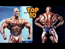 Top 10 Legendary Bodybuilders at Their Best Shape Ever